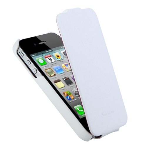 Genuine Leather Case for iPhone 4/4s White