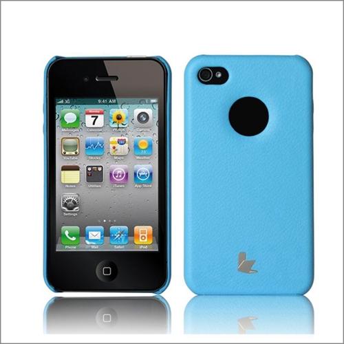 Jisoncase caso protetor tampa traseira para iPhone 4 4S