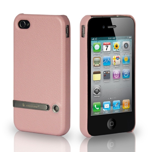 Jisoncase Stand Case capa para iPhone 4/4S