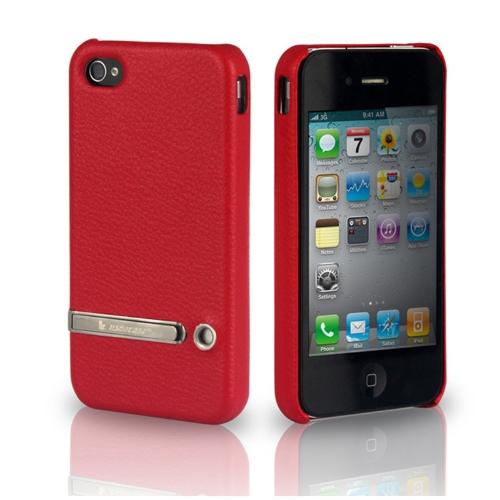 Jisoncase Stand cas couvrir pour iPhone 4/4 s