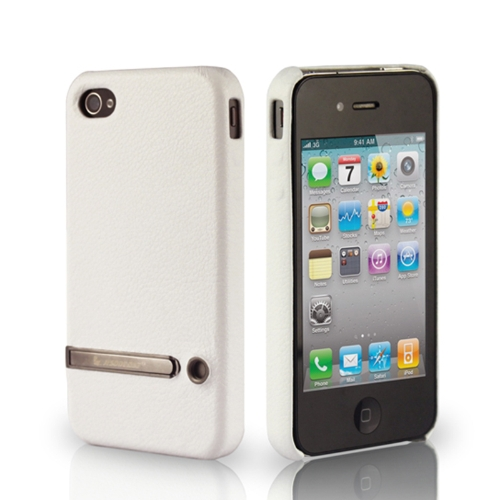 Jisoncase Stand Case capa para iPhone 4/4S