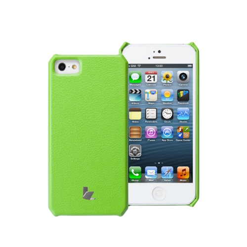 Jisoncase Microfiber Handmade Case Cover for iPhone 5