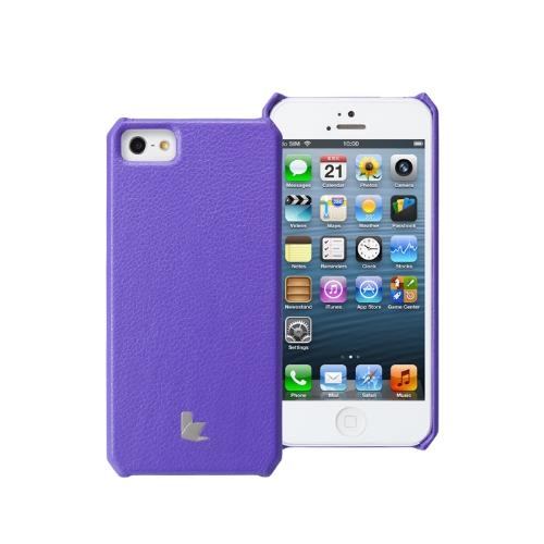 Jisoncase microfibra Handmade caso capa para iPhone 5