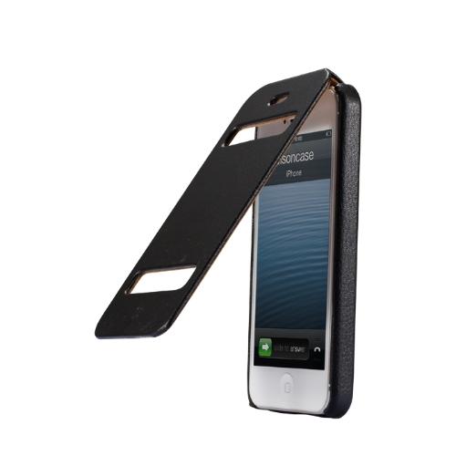 Jisoncase Klapki Klasyczne etui pokrowiec do iPhone 5