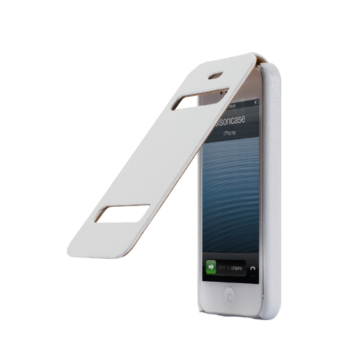 Jisoncase Flip Classic Protective Case Cover for iPhone 5