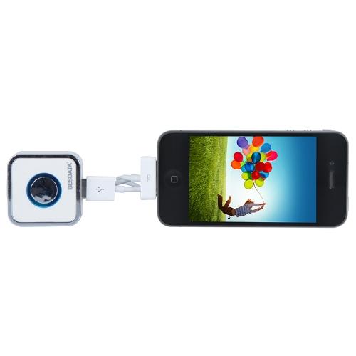 2 AC adaptateur mur/Voyage Chargeur Micro USB 30 broches câble d'alimentation USB pour iPad iPhone téléphone intelligent Samsung Galaxy Tablet PC 5.1V 3 shuffle MP3