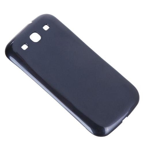 QI receptor sem fio poder volta cobrir caso de carga para Samsung Galaxy S3 III i9300 Dark Blue