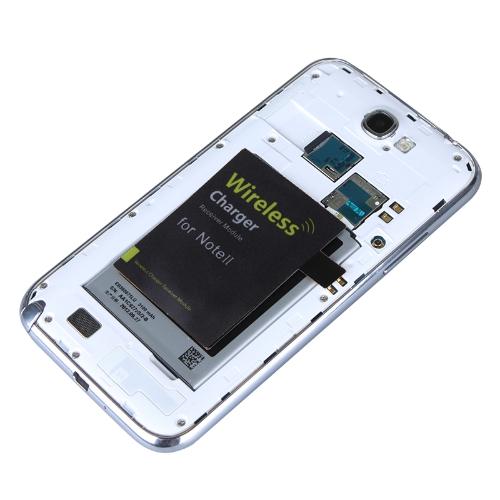 Qi Wireless Charging Receiver for Samsung Galaxy Note II 2 N7100 Black