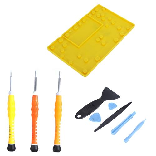 10 em 1 abertura Pry ferramentas desmontagem conjunto Kit de reparação para Apple iPhone 4 4