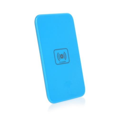 Qi Wireless Charger Transmitter Charging Pad/Mat/Plate for Nokia Lumia 920 Nexus 4/5 Patented Heat Dissipation Blue