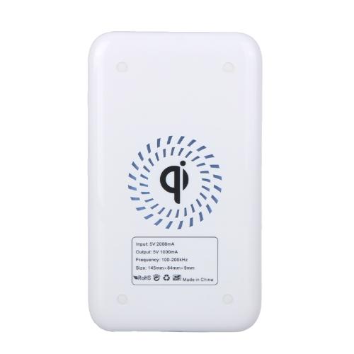 ノキア Lumia 920 ネクサス 4/5 特許熱散逸白パッド/マット/プレートを充電 Qi ワイヤレス充電器送信機