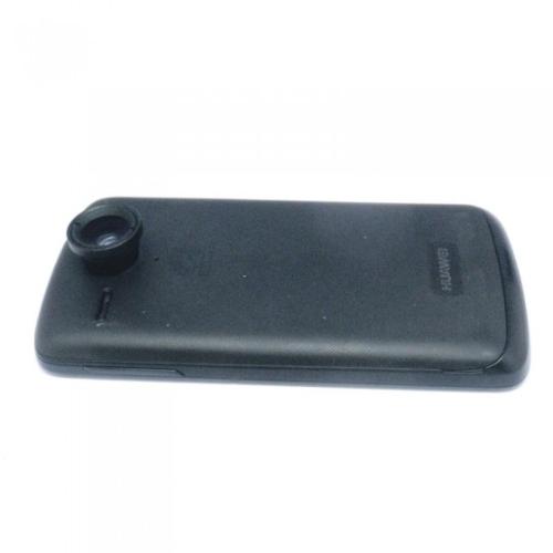 2 w 1 Telefon Photo Camera Lens 0.67X Szeroki kąt + Macro dla telefonów komórkowych iPhone 5 5S 4 4S Samsung Czarny