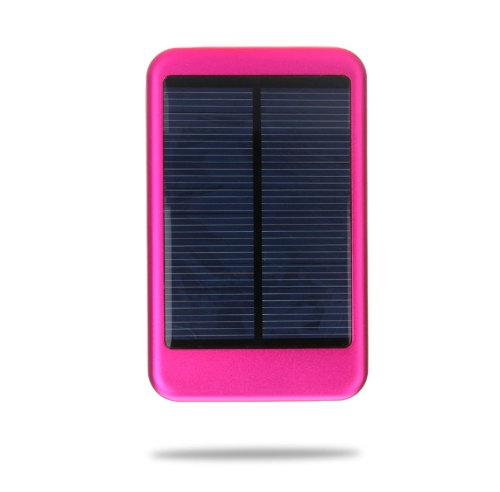5000mAh Solar Mobile Power Portable External Battery Charger Universal for iPhone iPad Samsung Smartphones Rose