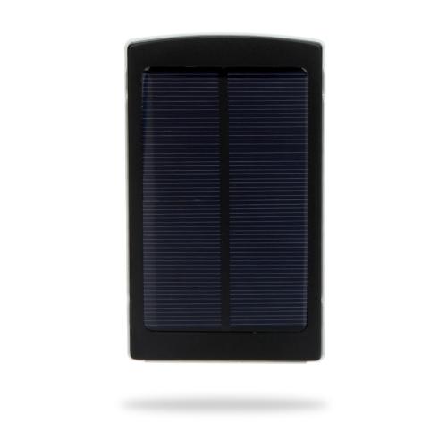 10000mAh 外部ソーラー充電器携帯電源ユニバーサル iPhone ipad とサムスン NokiaSmartphones ポータブル ブラック