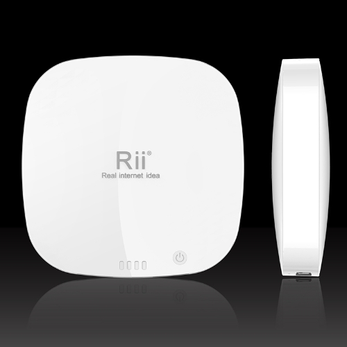 Rii® P03 Portable 4000mAh Battery Dual USB Mobile Power Bank Charger for iPhone iPod Samsung HTC