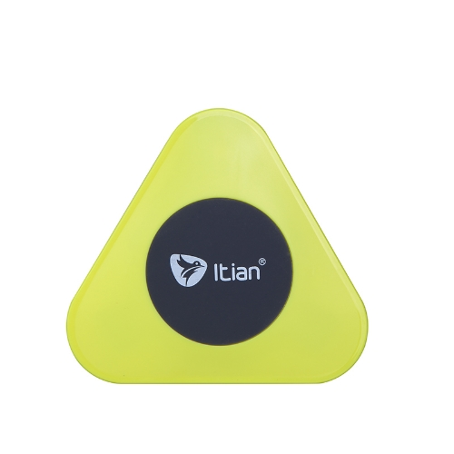 Qi Wireless Charger Charging Transmitter Plate Pad for Nokia Lumia 920 Samsung Note3 Nexus 4/5 Yellow