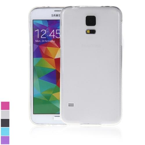 TPU Защитный Задний Чехол Обложка Оболочка для Samsung Galaxy S5 i9600 Белый