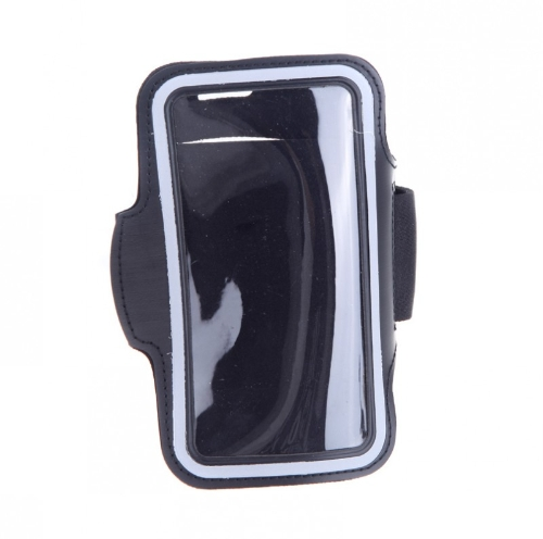 Sport Jogging Arm Band Strap Gym Running Strap  Pouch Holder Case Cover for Samsung Galaxy S5 i9600 Black