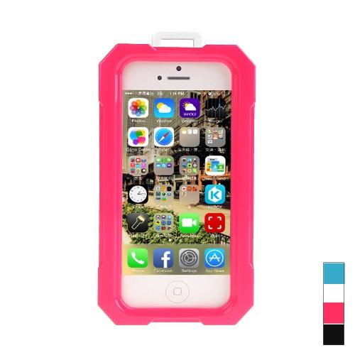 Ipega étanche antichoc Snowfroof insalissable Etui protecteur en silicone pour iPhone 5/5 s avec sangle Rose