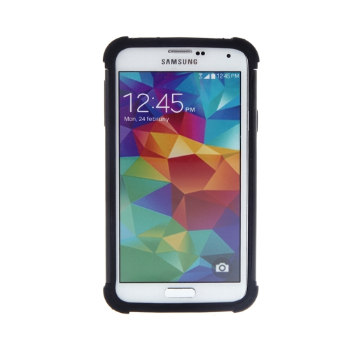 Dual Layer Hybrid Hard Case Cover for Samsung Galaxy S5 I9600 Rugged Silicone Protective Shockproof