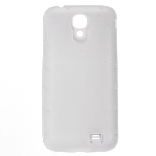 6000mAh Rechargeable Li-ion Battery High Capacity Replacement + White Back Cover for Samsung Galaxy B600BC S4 I9500 I545 I337