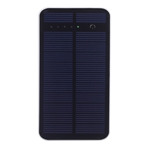 Dual USB Solar Charger Touch Screen Power Bank 12000mAh External Portable Battery for iPhone iPad MP3/4 Camera Game Player