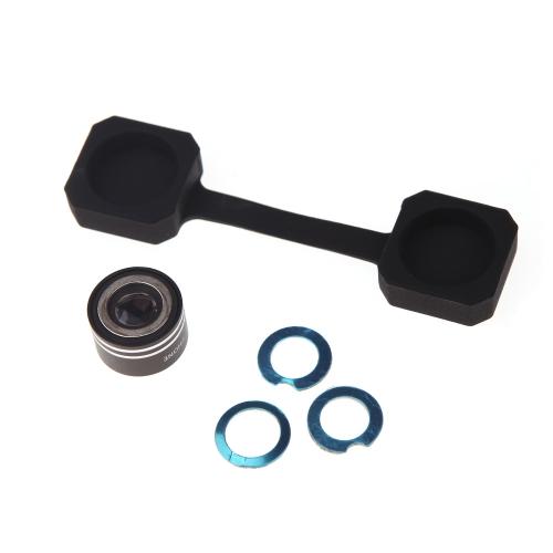 Magnetic Lens 170 Degree 0.28 Mini Fisheye Fish-Eye Lens for Mobile Phone Tablet PC