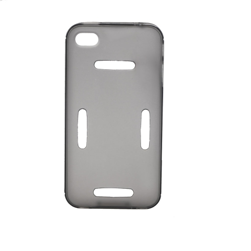 Sports Running Gym Armband Waistband Case Cover Protective Shell for iPhone 4 4S Gray