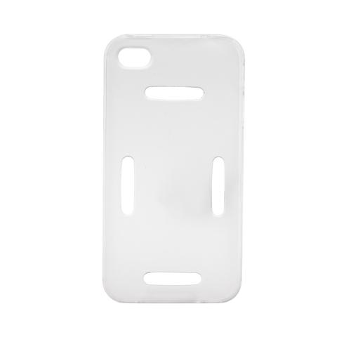 Спорт работает тренажерный зал повязку пояса случае покрытия защитные оболочки для iPhone 4 4S прозрачный