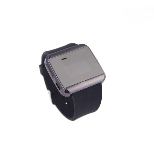 スマート フォン同期 SMS 電話紛失防止アラーム ブラック U ブルートゥース スマート時計腕時計
