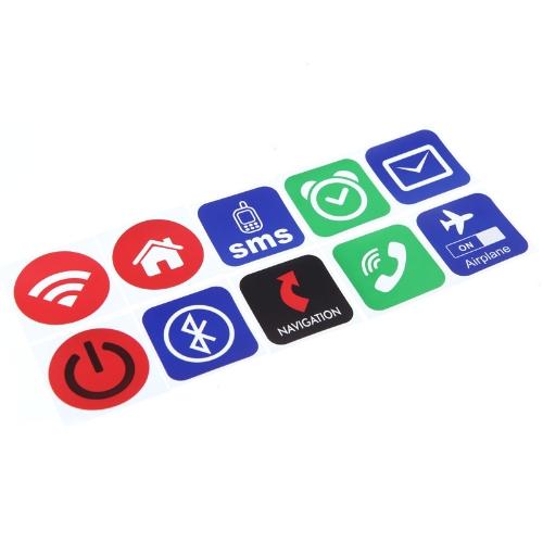 10pcs Smart NFC Tags Stickers for Samsung Galaxy S5 S4 Note 3 Nokia Lumia 920 Sony Xperia Nexus 5
