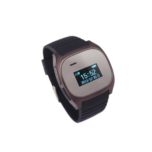 Smart Bluetooth R Watch for Android Cellphones Sync Phonebook Calls Message Alarm Remote Control Music Grey