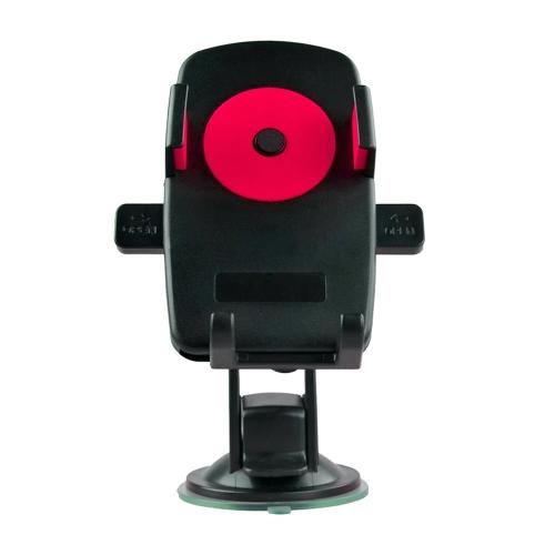 Fácil um toque 360 graus Rotatable carro montar suporte suporte para iPhone Celular GPS MP4 PDA