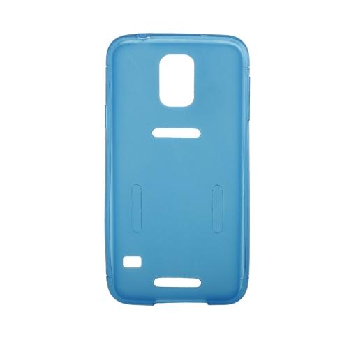 Esportes, executando o ginásio Armband cós capa Case casca protetora para Samsung Galaxy S5 I9600 azul