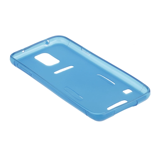 Sports Running Gym Armband Waistband Case Cover Protective Shell for Samsung Galaxy S5 I9600 Blue