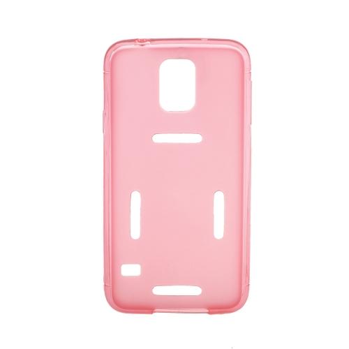 Esportes, executando o ginásio Armband cós capa Case casca protetora para Samsung Galaxy S5 I9600 vermelho