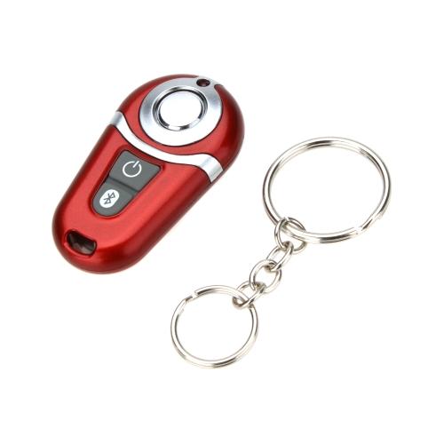 Selfie Camera Wireless Bluetooth Self-timer Remote Shutter Control Smart Phone Accessaries for iPhone Samsung MEIZU Pocket-size Red