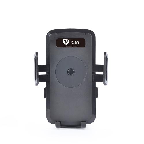 Qi veículo carro titular Wireless carregador Pad transmissor universal para iPhone 6 6S 6 Plus 6S Plus Samsung Galaxy OBS4 Note5 nota de borda S6 S6 S6 borda Plus LG G4 Xiaomi nota Pro Huawei companheiro 7 P7 P8 Smartphone