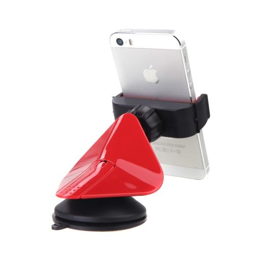 普遍的な車車マウント ホルダー ブラケット スタンド吸盤 360 度回転携帯携帯スマート フォン iPhone 5 6 のための三星銀河 5 I9600 GPS