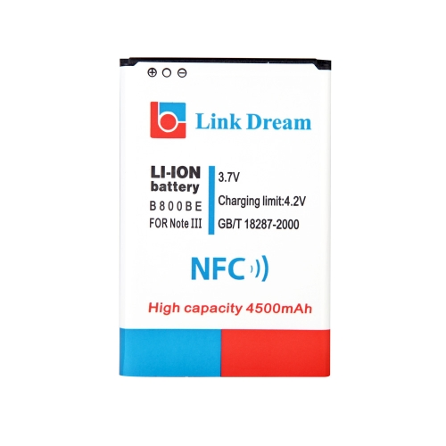 Extended Replacement Li-ion Battery 3.7V NFC Function 4500mAh High Capacity for B800BE Samsung Note3 N9000 N9005 N9002 N900 N900A
