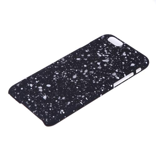 Fantástico Universal estrelas PC difícil voltar caso cobrir pele protetora para Apple iPhone 6 4,7