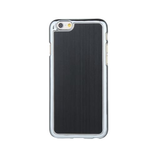 極薄軽量ハード起毛アルミニウム ファッション バンパー シェル ケース保護バック カバー 4.7