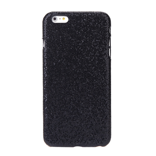 Ultrasottile Lightweight plastica moda Shell caso protettiva Cover posteriore per iPhone 6 Plus 6S Plus Paillette Black