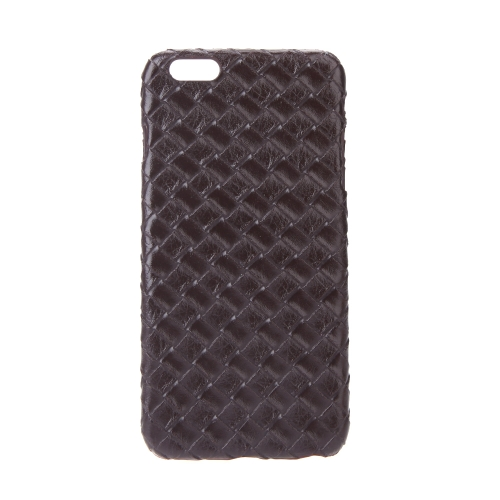 Ultrafinos Lightweight plástico moda Shell caso protetor tampa traseira para iPhone 6 Plus 6S Plus Quilt Rhombus Brown