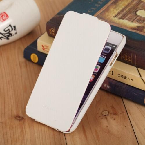 Genuine Moda + PU couro celular Ultra Slim Flip capa protetora Shell para 4,7