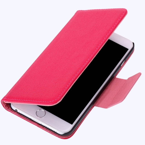 Flip Luxe PU Cuir Dur Wallet Housse Texturé Grains Sachet à Plié Magnetic Clip pour Apple iPhone 6 Plus 5.5