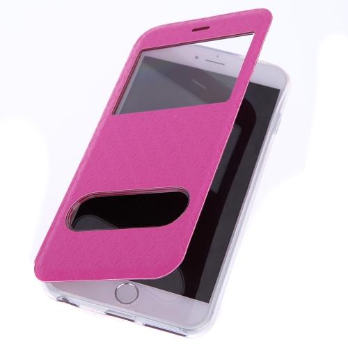 【全5色】 Apple iPhone 6 Plus PU レザー/横開き/手帳/スタンド仕様/ケース/カバー