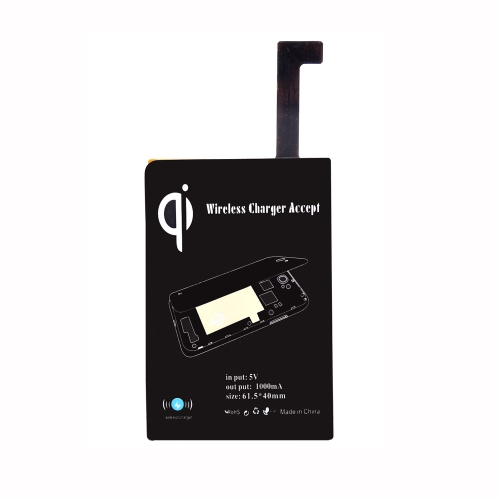 Certificated Ultra-thin Qi Wireless Charging Receiver Inductive Coil for Samsung Galaxy Note4 N9100
