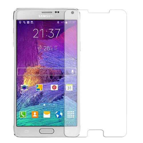 Image of 0,3 mm 2,5 Tage 9H gehärtetes Glas Screen Protector Film Guard Anti-Shatter für Samsung Galaxy Anmerkung4 N9100