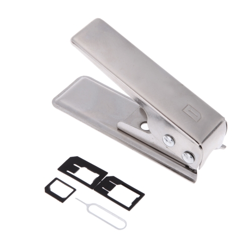 JAKEMY JM-CT0 Universal Micro Sim Card Cutter definido para iPhone 4 Smartphone